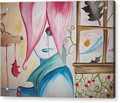 Coyote Confused Acrylic Print by Jake Huenink