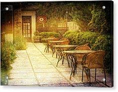 Cozy Cafe' Acrylic Print