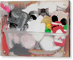 Cozy Camoflage  Acrylic Print