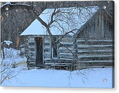 Cozy Hideaway Acrylic Print by Penny Meyers