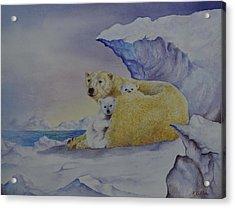 Cozy Warm Acrylic Print by Kathleen Keller