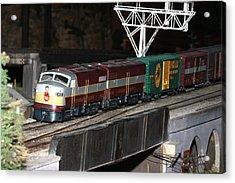 Cp Engine 4023 Acrylic Print by Hugh McClean