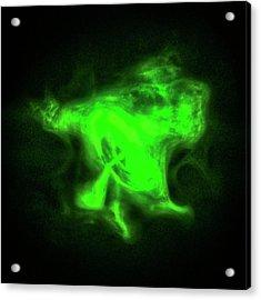 Crab Nebula Acrylic Print by Nasa/cxc/sao