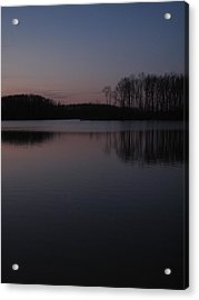 Crab Orchard Lake At Peace - 2 Acrylic Print