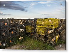 Acrylic Print featuring the photograph Crab Pots by Gregg Southard