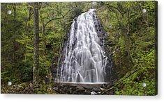 Crabtree Falls Panorama Acrylic Print