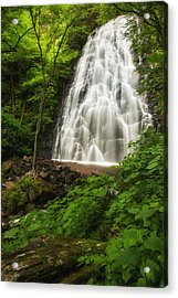 Crabtree Falls Acrylic Print by Photography  By Sai