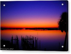 Crack Of Dawn Acrylic Print