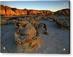Cracked Eggs In The Bisti Badlands  Acrylic Print