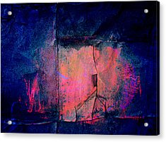 Cracked Acrylic Print
