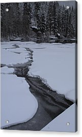 Cracked Ice  Acrylic Print