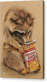 Cracker Jack Bandit Acrylic Print