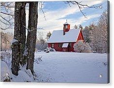 Acrylic Print featuring the photograph Craftsman's Barn by Larry Landolfi