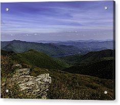 Craggy Mountains Acrylic Print