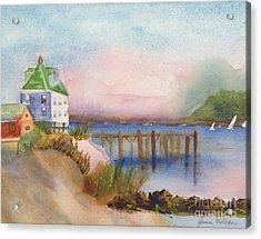 Cranberry Islands Acrylic Print