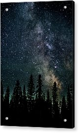 Acrylic Print featuring the photograph Cranbrook Milkyway by Rob Tullis