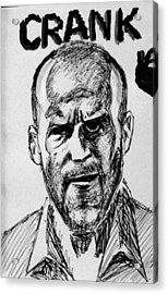 Acrylic Print featuring the painting Jason Statham by Salman Ravish
