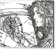 Crash Test Annie Acrylic Print