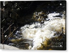 Crashing Water Acrylic Print