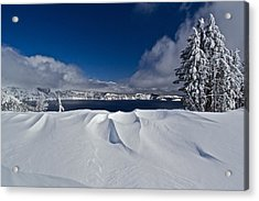 Acrylic Print featuring the photograph Crater Lake 040913b by Todd Kreuter