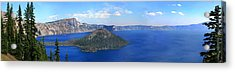 Crater Lake Acrylic Print by Melisa Meyers