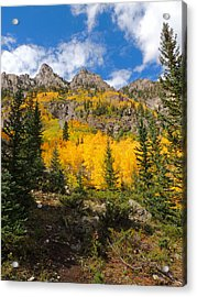 Crater Lake Trail 2 Acrylic Print by Steve Anderson
