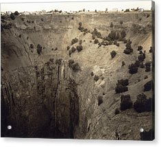 Crater Of Fortune Diamond Mine Acrylic Print