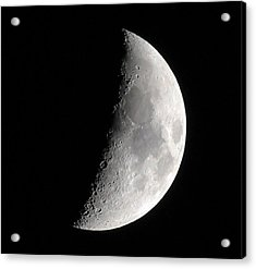 Craters Acrylic Print