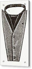 Cravat For Gentleman Acrylic Print