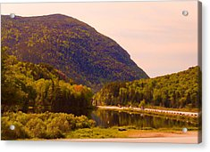 Crawford Notch Homage To Thomas Cole Acrylic Print