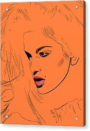Crawford Orange Acrylic Print by GCannon