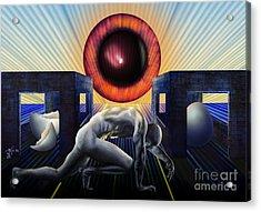 Crawling To Life Acrylic Print by Rosa Cobos