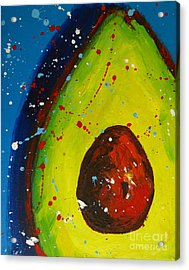 Crazy Avocado V Acrylic Print