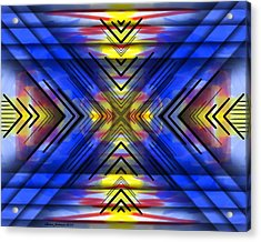 Crazy Daze Acrylic Print by Brian Johnson