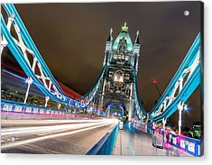 Crazy London Acrylic Print