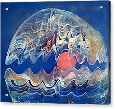 Crazy Oyster Acrylic Print