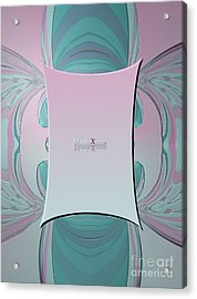 Cream Mint Mediterran Acrylic Print