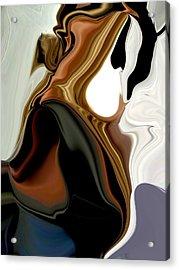Creamy Acrylic Print by HollyWood Creation By linda zanini