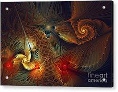 Creation-abstract Fractal Art Acrylic Print
