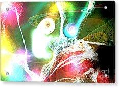 Creation Acrylic Print by Bobbie S Richardson