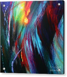 Acrylic Print featuring the painting Creation by Jeanette French