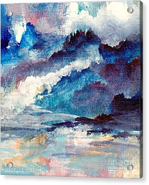 Acrylic Print featuring the painting Creation by Kathy Bassett