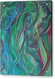 Creation Acrylic Print by Made by Marley