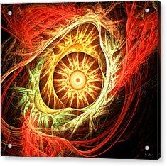 Creation Of Sun Acrylic Print