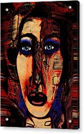 Creative Artist Acrylic Print by Natalie Holland