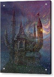 Creativity Castle Acrylic Print
