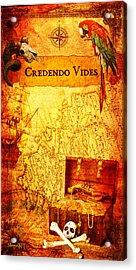 Credendo Vides Acrylic Print by Donika Nikova