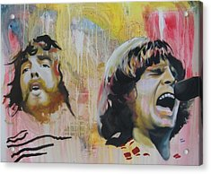 Creedence Clearwater Revival Acrylic Print by Matt Burke