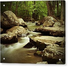 Creek At St. Peters Acrylic Print
