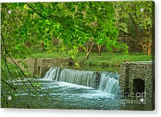 creek at Valley Forge Acrylic Print